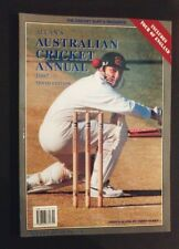Allan's Australian Cricket Annual - 1997 Tenth Edition - Allan Miller signed