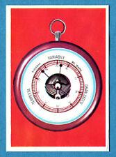LA TERRA - Panini 1966 - Figurina-Sticker n. 60 - IL BAROMETRO -Rec