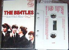 BEATLES ROCK N ROLL MUSIC V2 CASSETTE TCMFP50507 GREY SHELL RED LETTERING
