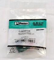 Panduit CJ5E88TGR Mini-Com TX-5E Module T568A/B Wiring Giga-TX Technology NEW