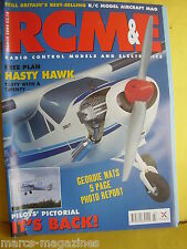 RCM&E MODEL AIRCRAFT MARCH 2004 HASTY BAE  HAWK PLAN TONY NIJHUIS VMAR EDGE 540