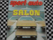 revue SPORT AUTO 1978 SALON SPORTIVES / LOTUS ESPRIT S2 / SIMCA RALLYE / n° 201