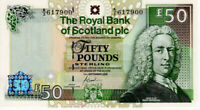 2005 Scotland £50 Fifty Pounds Royal Bank of Scotland Banknote P367 UNC
