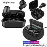 Bluetooth 5.0 Headset TWS Wireless Earphones Mini Earbuds Stereo Headphones IPX5