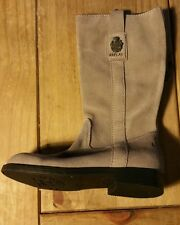 RePlay Girl Purple Boots FAUX Suede Size UK 11 New WITH Tag