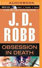 In Death: Obsession in Death 40 by J. D. Robb (2015, MP3 CD, Unabridged)