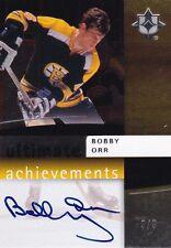Upper Deck Ultimate Achievements 2007 08 Bobby Orr  Signature Auto