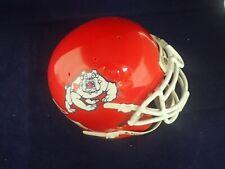 University of Fresno State Schutt Mini Helmet - NEW- No Original Box FREE S+H