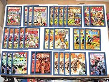 2011 Upper Deck Marvel Thor Movie Comic Cover insert CHASE 32 Card LOT!