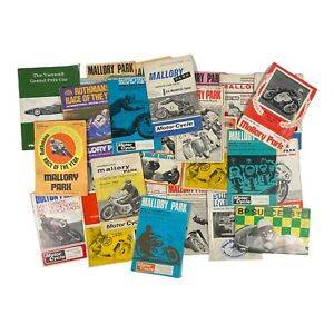 Mallory Park & Oulton Park Motor Racing / Motorbike Programmes / Memorabillia