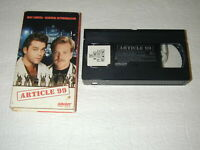 ARTICLE 99 RAY LIOTTA, KIEFER SUTHERLAND 1992 ORION VHS RARE, OOP, HTF