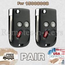 2 Car Key Fob for 2002 2003 2004 2005 2006 2007 2008 2009 Chevy Trailblazer
