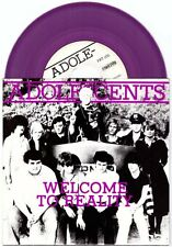 """Adolescents """"Welcome To Reality""""7"""" OOP Dwarves NoFx Social Distortion Black Flag"""