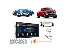 2008-2010 FORD F250/F350/450/550 DDIN STEREO KIT, TOUCHSCREEN USB BLUETOOTH DVD