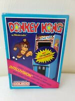 DONKEY KONG -- for INTELLIVISION Video Game System Never Opened!