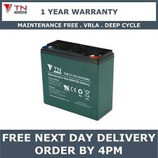 TN Power AGM 12V 25Ah Golf & Mobility Scooter Battery, Replaces REC22-12