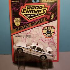 ROAD CHAMPS (43101) 1:43 SCALE DIECAST METAL ORLANDO FLORIDA POLICE CAR