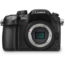 Panasonic Lumix DMC-GH4 4K Mirrorless Micro Four Thirds Digital Camera Body NEW