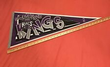 "*RARE* VINTAGE 1995 SACRAMENTO KINGS PENNANT NBA BASKETBALL FULL SIZE 12x30"""