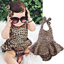 Newborn Infant Baby Girls Tutu Romper Dress Bodysuit Jumpsuit Outfits Clothes