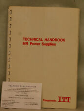 Components ITT. MR Power Supplies, Technical Manual