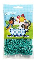 Bulk Buy: 5 x 1,000 Perler Parrot Green Color Iron On Fuse Beads: 80-19091