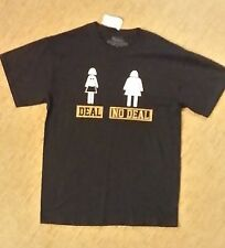 Deal No Deal T shirt Size Medium Funny New with Tags . Humor Game TV show comedy