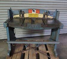 "Roper Whitney Pexto 16 Ga. x 36"" Foot Stomp Metal Shear Model 137L Made in USA"