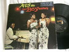 ANDY BEY & THE BEY SISTERS Salome & Geraldine Bey RCA LPM 2315 mono dg LP