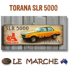 "🚘 HOLDEN GM ""Torana SLR 5000"" Wooden Rustic Plaque / Sign (FREE POST) 🚘"