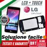 DISPLAY LCD+TOUCH SCREEN+FRAME COVER PER LG K4 2017 M160 VETRO SCHERMO ORIGINALE