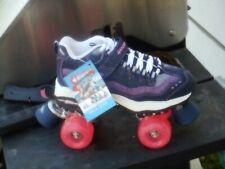 Britney Spears Skechers roller skates  pink denim women's sizes 7, 7.5, 8, 10