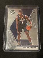 Zion Williamson 2019-20 Panini Prizm Mosaic Base Rookie RC #209 Pelicans