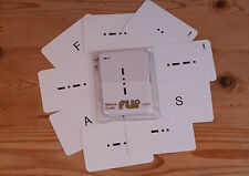FLIP CARDS Morse Code for Mariners, MN Cadets & Yachtsmen - RYA Course