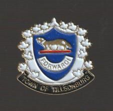 Tillsonburg Ontario Metal Pinback Pin - Good