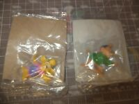 Lot of 2 Vintage Kelloggs Disney Afternoon TailSpin Cartoon Toppers PVC Figure