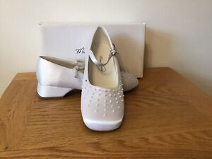 Women's Girls Mireio Couture Bride/Bridesmaid  Shoes Size U.K 4 Brand New In Box