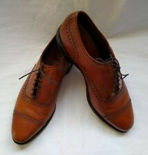 ALLEN EDMONDS CLIFTON LEATHER OXFORD SHOES, SIZE 11D