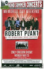 Robert Plant & The Space Shifters 2015 Bend Concert Tour Poster - Led Zeppelin