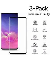 3X Premium Real Tempered Glass Screen Protector For Samsung Galaxy S10 Plus S10E