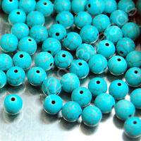 30pcs Natural Gemstone Round Spacer Loose Beads Lot Free Shipping 4mm
