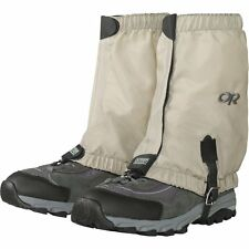 Outdoor Research Mens Bug Out Gaiters, Tan, Medium