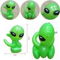 85cm Inflatable Alien Toy Stage Props Blow Up Space Novelty Toy J2G1 Suppl P9R7