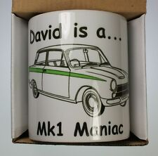 Mk1 Cortina Personalised Coffee Cup Crimbo Man Cave Gift GT Lotus