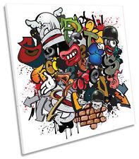 Canvas Deko-Bilder & -Drucke mit Graffiti-Motiv