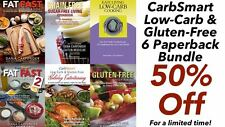 CarbSmart Low-Carb & Gluten-Free 6 Paperback Bundle - 6 BRAND NEW Best Sellers