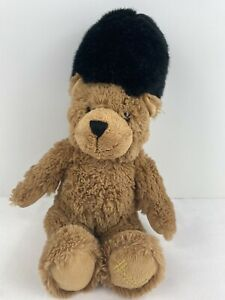 "Harrods Knightsbridge Bear 14"" Tall Stuffed Animal Plush Soft Cute Smoke Free"