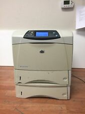 Hp 4300DTN Network Ready Duplexer Laser Printer w/Extra Tray/Toner/Free Shipping