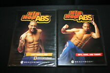 Hip Hop Abs lot of two dvd work outs Beach Body 5 Minute Workout