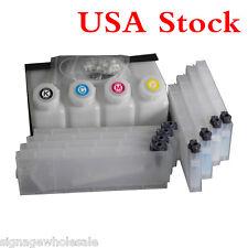 BEST Roland Mimaki Mutoh Bulk Ink System--4 Bottles, 8 Cartridges  US Stock!!